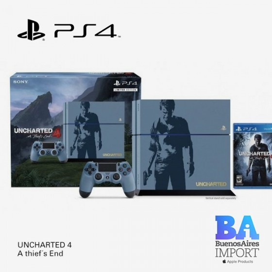 PlayStation 4 + Uncharted Nathan Drake Collection
