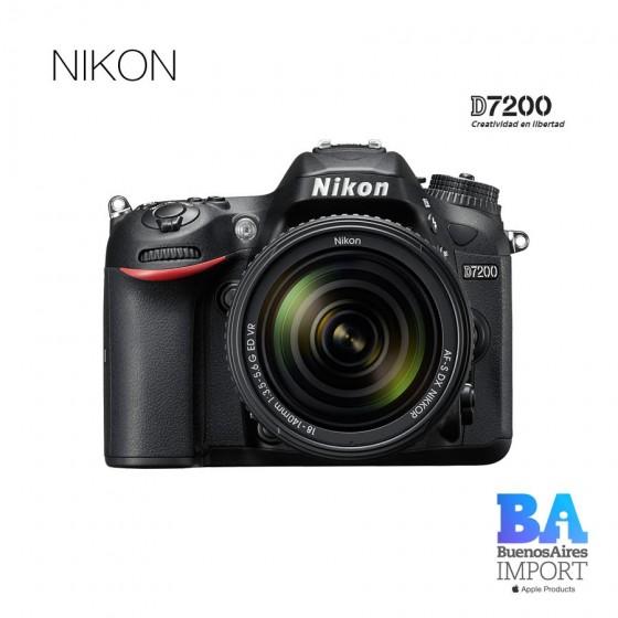 Nikon D7200 18/140mm