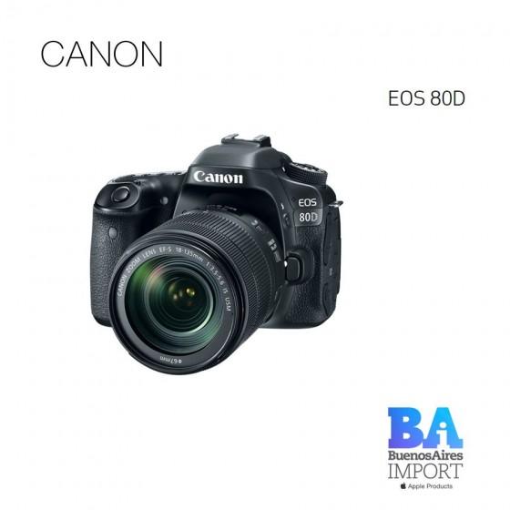 Canon EOS 80D 18/135mm