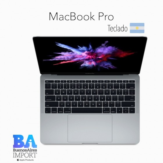 MacBook Pro 13' 128GB [MPXQ2] - Space Gray - 2017