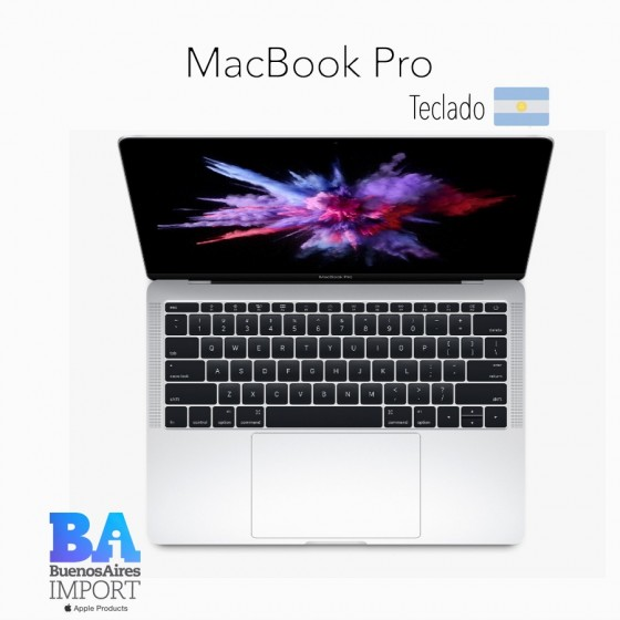 MacBook Pro 13' 128GB [MPXR2] - Silver - 2017
