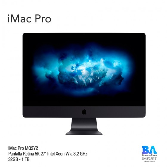 iMac Pro [MQ2Y2]