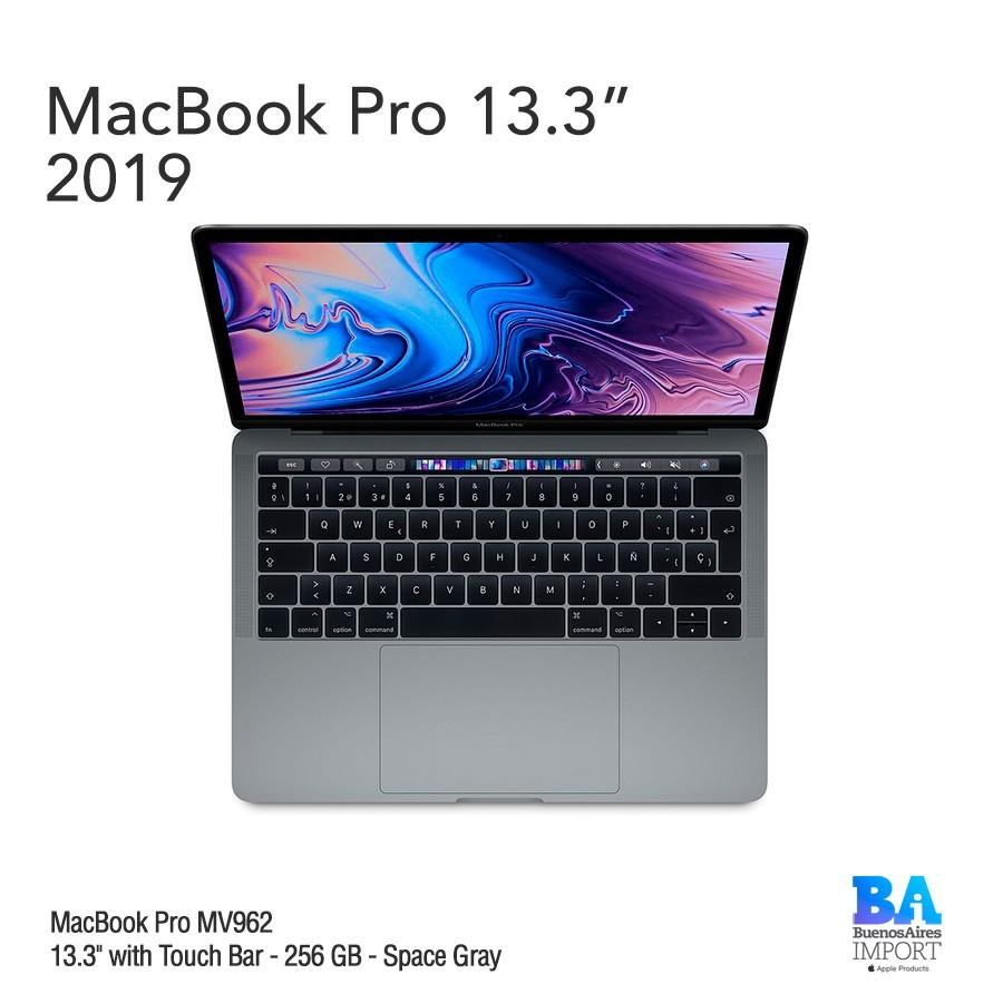 "MacBook Pro [MR9Q2E/A] Touch ID/Bar 13"" 256GB Space Gray"