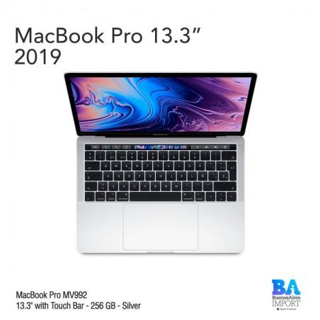 "MacBook Pro [MV992] Touch ID/Bar 13"" 256GB Silver"