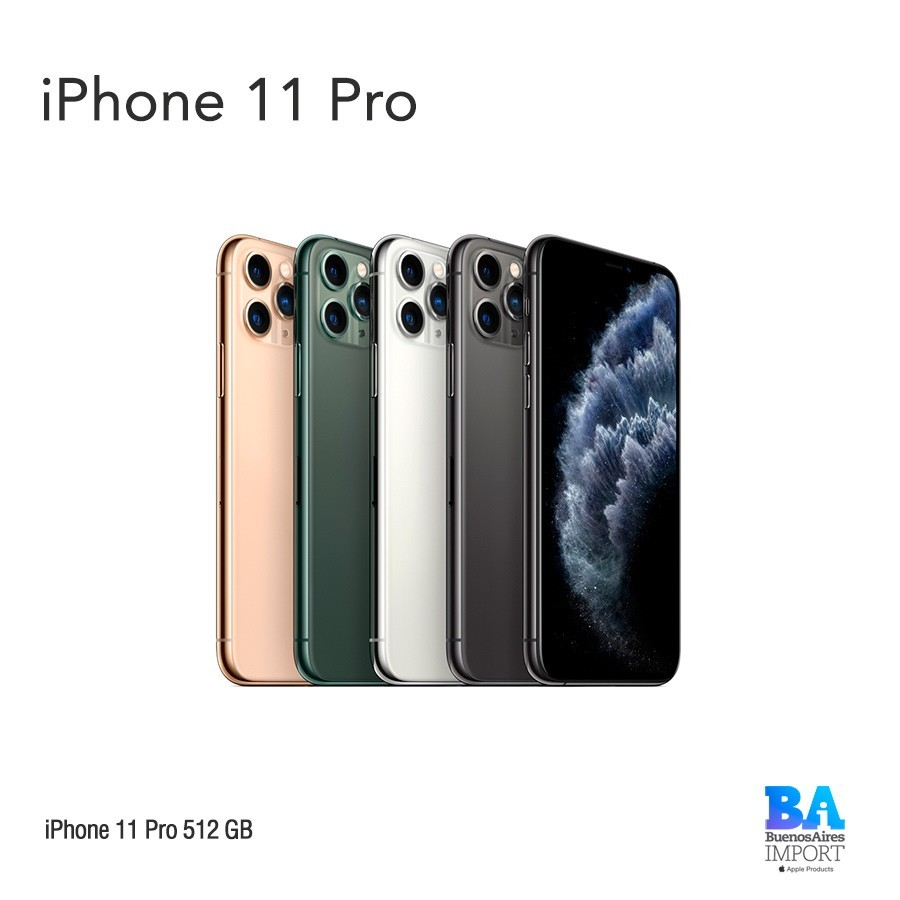 iPhone 11 Pro- 512 GB