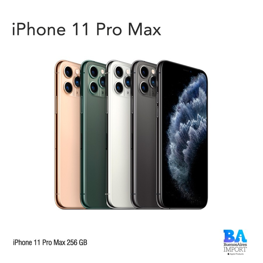 iPhone 11 Pro Max- 256 GB