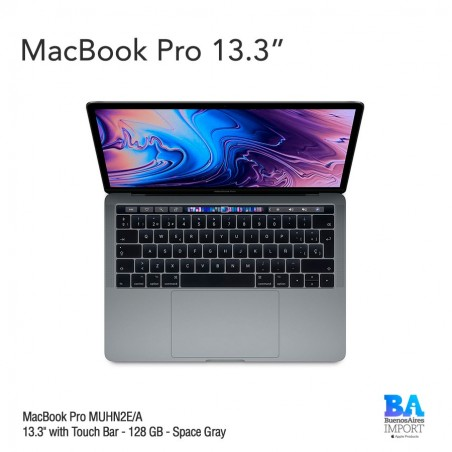 "MacBook Pro 13"" Retina [MUHN2] i5 1.4 GHz Touch ID/Bar 128 GB - Space Gray"