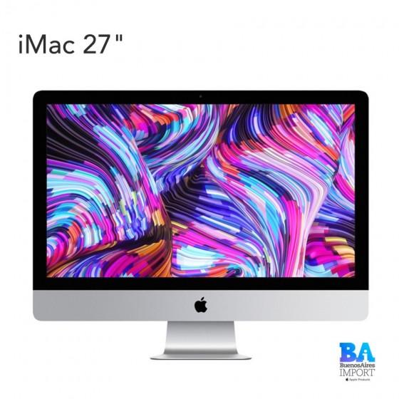 "iMac 27"" 5K Retina [MRQY2] i5 3.0GHz/4.1GHz 6-Core 8gen - 8GB - 1TB fusion drive"