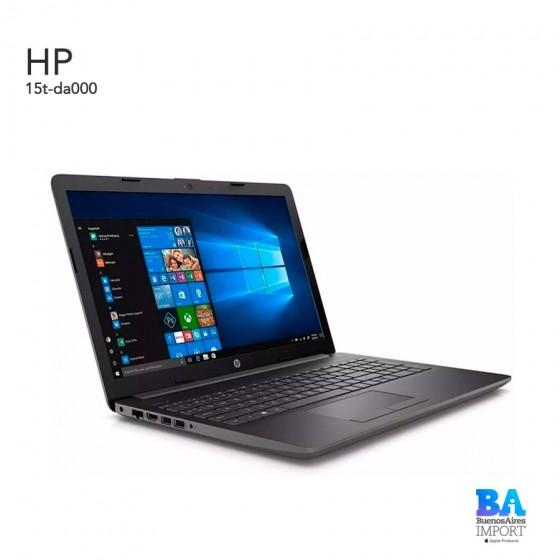HP 15t-da000 JET BLACK