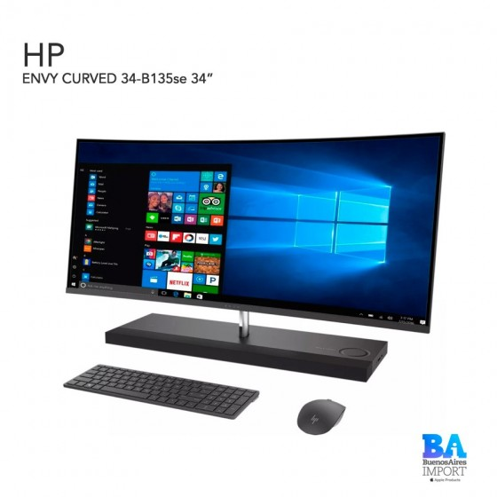 HP ENVY CURVED 34-B135se 34