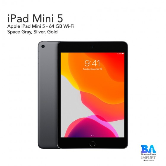 Apple iPad Mini 5 - 64 GB Wi-Fi