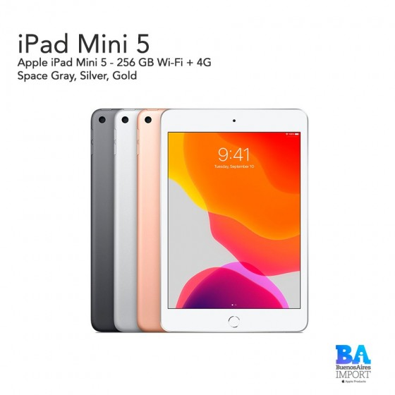 Apple iPad Mini 5 - 256 GB Wi-Fi + 4G