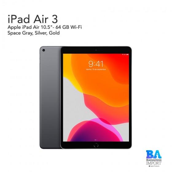 """Apple iPad Air 3 10.5""""- 64 GB Wi-Fi"""