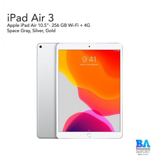 """Apple iPad Air 3 10.5""""- 256 GB Wi-Fi + 4G"""