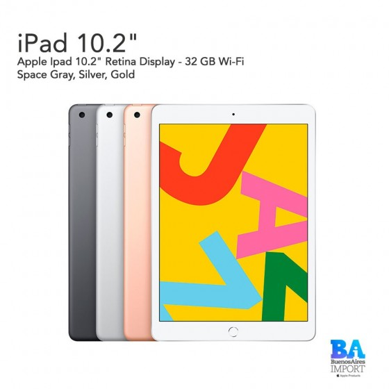"Apple Ipad 10.2"" - 32 GB Wi‑Fi"