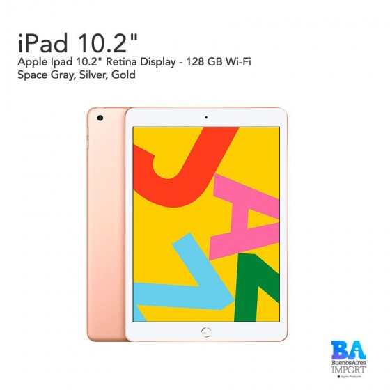 "Apple Ipad 10.2""  - 128 GB Wi‑Fi"