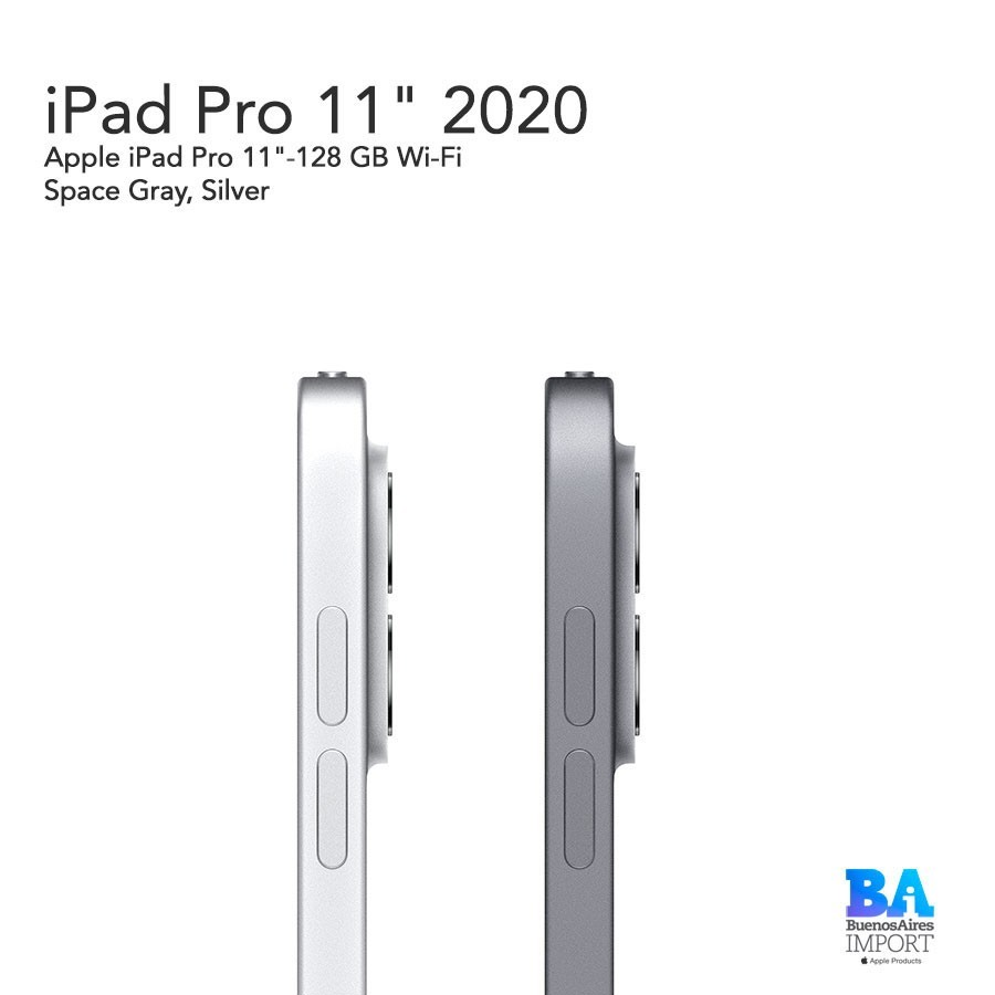 iPad Pro 11'- 128 GB WiFi 2020