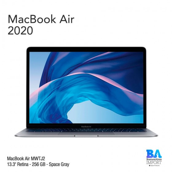 "MacBook Air 13.3"" Retina - 256 GB - Space Gray - 2020"