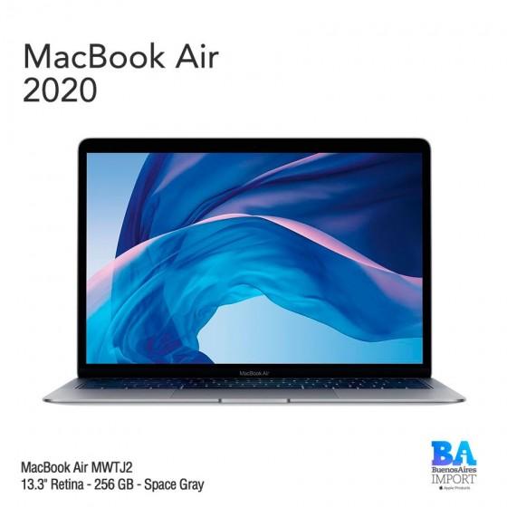 """MacBook Air 13.3"""" Retina - 256 GB - Space Gray - 2020"""
