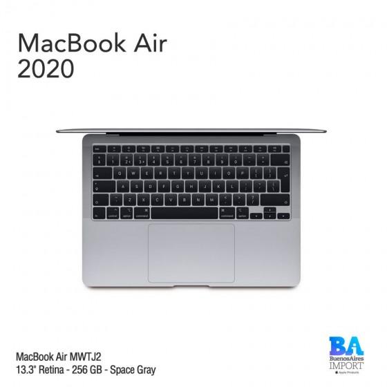 "MacBook Air 13.3"" Retina [MWTJ2] i3 1.1 GHz 256 GB - Space Gray - 2020"