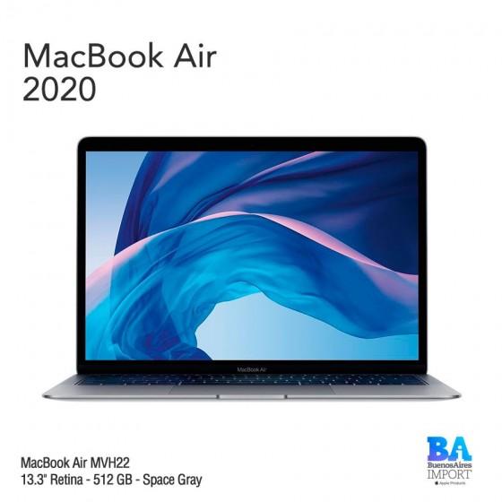 """MacBook Air 13.3"""" Retina - 512 GB - Space Gray - 2020"""