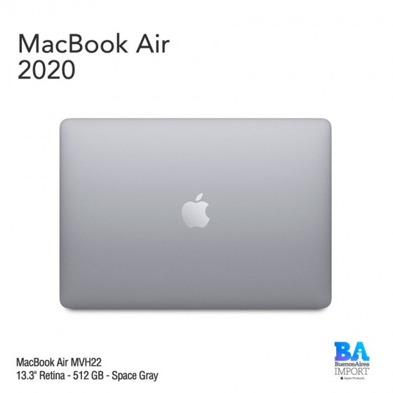 "MacBook Air 13.3"" Retina [MVH22] i5 1.1 GHz 512 GB - Space Gray - 2020"