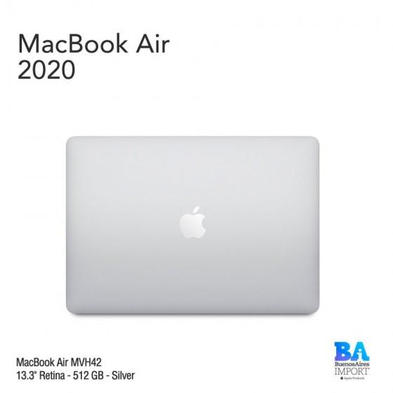 """MacBook Air 13.3"""" Retina [MVH42] i5 1.1 GHz 512 GB - Silver - 2020"""
