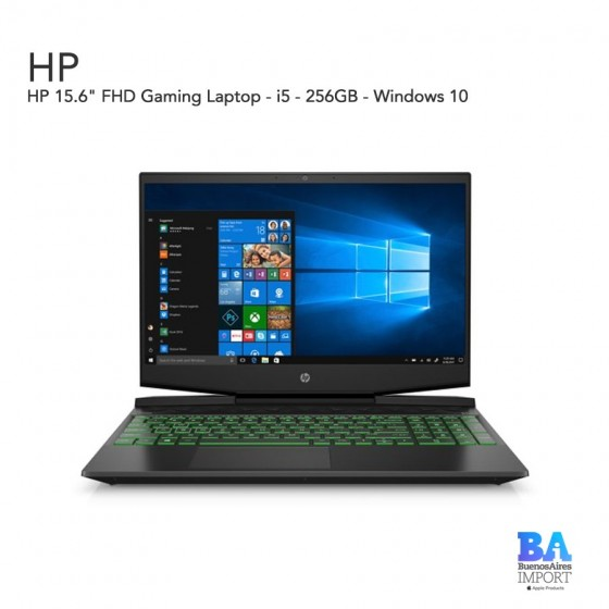 "HP 15.6"" FHD Gaming Laptop - i5 - 256GB"