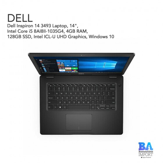 "Dell Inspiron 14 3493 Laptop 14"" - i5 - 128GB Ssd"