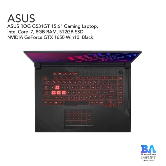 "ASUS - ROG G531GT 15.6"" Gaming Laptop  - I7 2.6 GHZ - 512GB SSD"