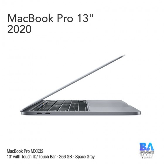 "MacBook Pro 13"" [MXK32] i5 1.4 GHz Touch ID/Bar 256 GB - Space Gray"