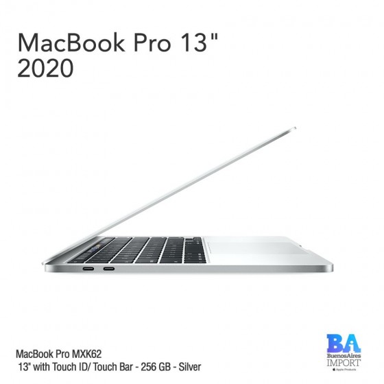 "MacBook Pro 13"" [MXK62] i5 1.4 GHz Touch ID/Bar 256 GB - Silver"
