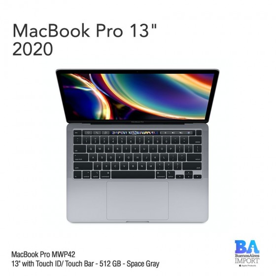 "MacBook Pro 13"" [MWP42] i5 2.0 GHz Touch ID/Bar 512 GB - Space Gray"