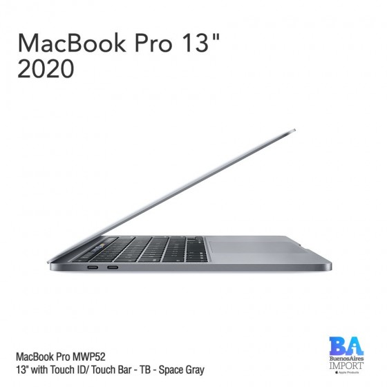 "MacBook Pro 13"" [MWP52] i5 2.0 GHz Touch ID/Bar 1 TB GB - Space Gray"