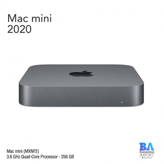 Mac Mini [MXNF2] i3 3.6GHz Quad-Core Processor - 256 GB