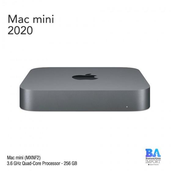 Mac Mini [MXNF2] i3 3.6GHz Quad-Core Processor - 256 GB