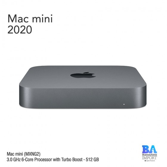 Mac Mini [MXNG2] i5 3.0 GHz 6-core Processor - 512 GB