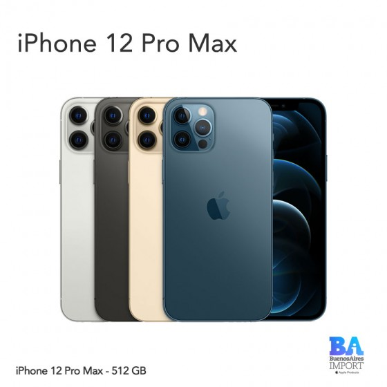 iPhone 12 Pro Max - 512 GB