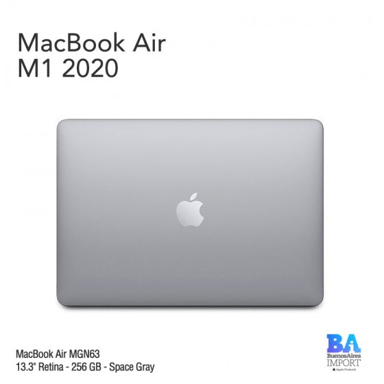 "MacBook Air 13.3"" Retina [MGN63] M1 Chip 256 GB - Space Gray"