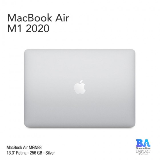"MacBook Air 13.3"" Retina [MGN93] M1 Chip 256 GB - Silver"