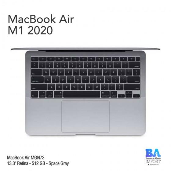 "MacBook Air 13.3"" Retina [MGN73] M1 Chip i8 512 GB - Space Gray"