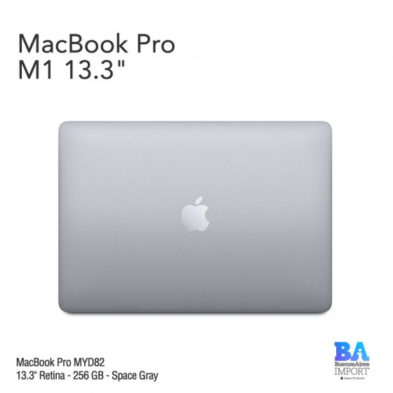 "MacBook Pro 13.3"" Retina [MYD82] M1 Chip 256 GB - Space Gray"