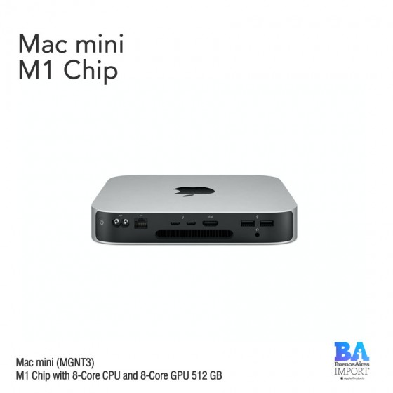 Mac mini [MGNT3] M1 Chip - 512 GB