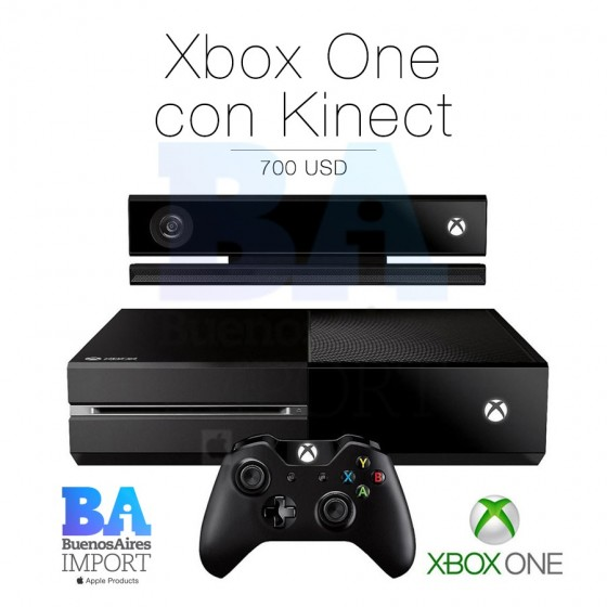 Xbox One con Kinect