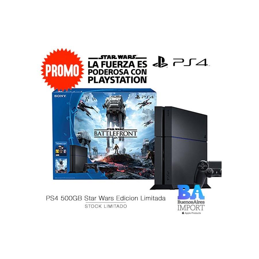 PS4 + JUEGO STAR WARS [VERSION LIMITADA]