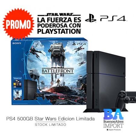 PlayStation 4 + JUEGO STAR WARS [EDICION LIMITADA]