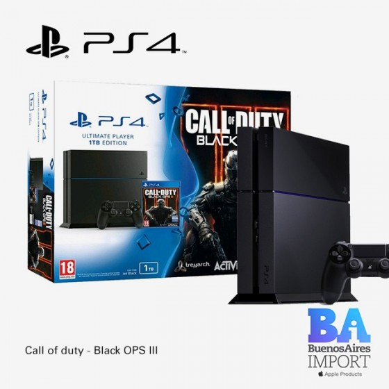 Play Station 4 + Call of Duty - Black Ops 3