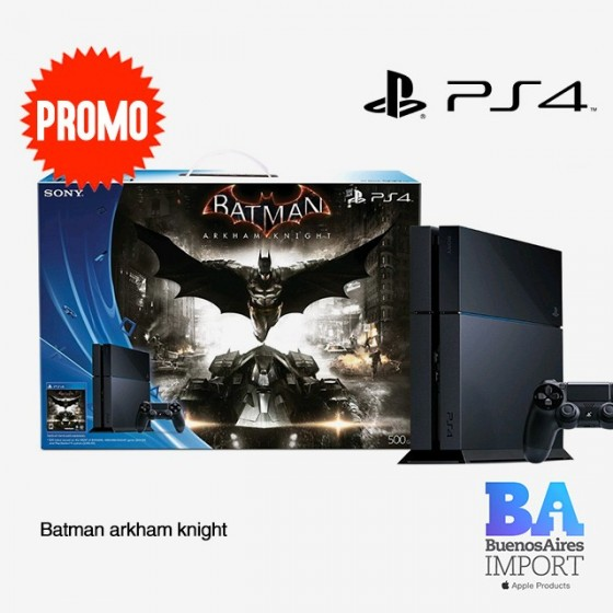 Play Station 4 + Batman Arkham Knight